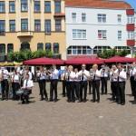 Flashmob auf dem Alten Markt in Herford