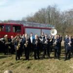 Spatentstich für neues Fw-Gerätehaus in Schwarzenmoor