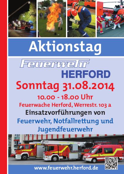 Aktionstag Feuerwehr Herford