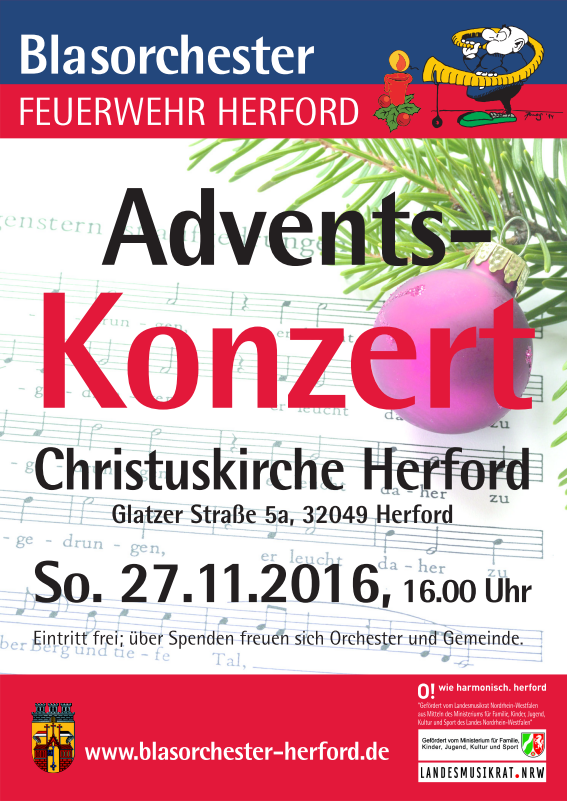 BFH Adventskonzert 2016